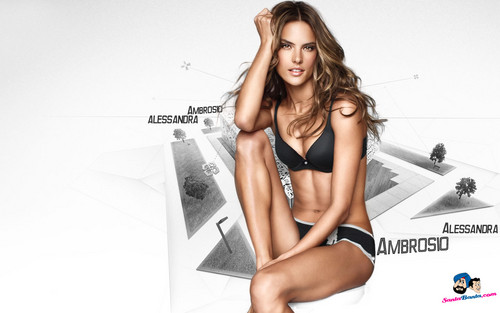 Alessandra Ambrosio Wallpaper Probably With A Bikini And Swimsuit Entitled