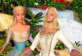 Annelease and Odette together - barbie-movies fan art