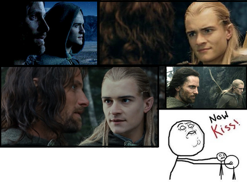 Aragorn Legolas lol