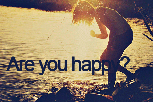 Are u Happy?