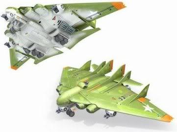 "B-5000""Strato Destroyer"""
