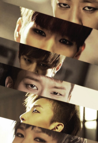 B.A.P fondo de pantalla probably with a sign called B.A.P - One Shot