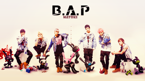 B.A.P 壁纸 probably with a 音乐会 called B.A.P