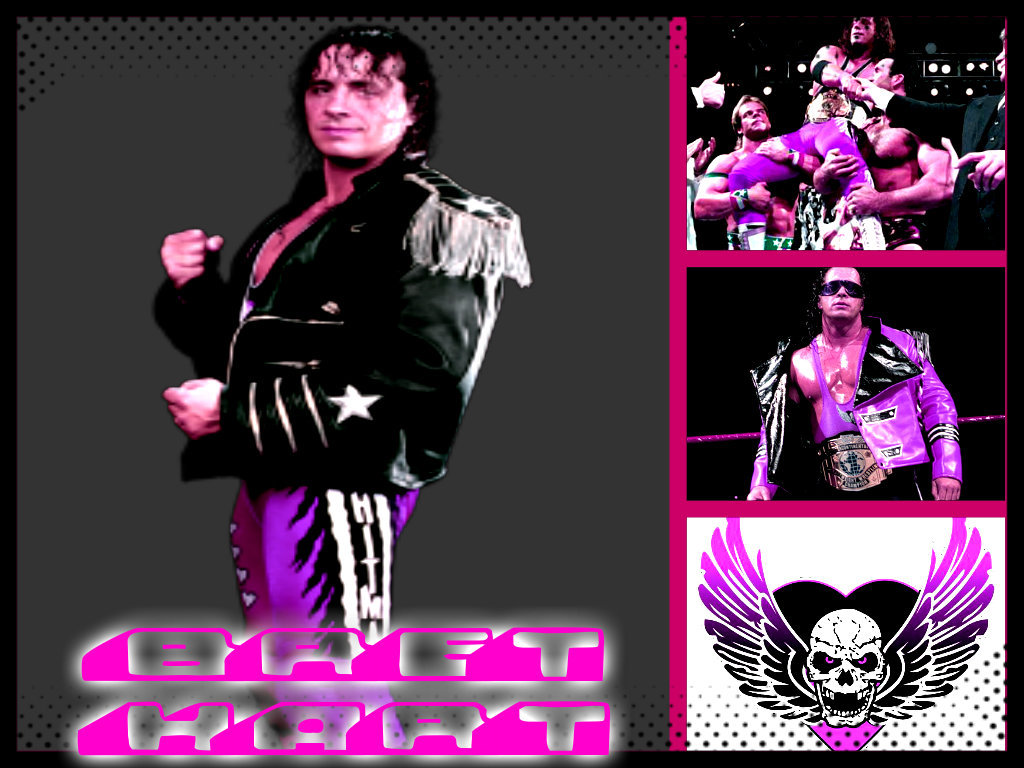 BRET HART COLLAGE