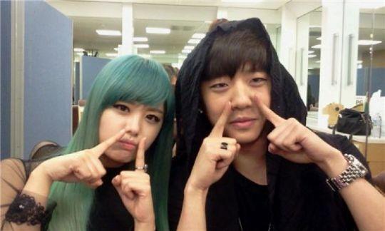Bang and Song Ji Eun