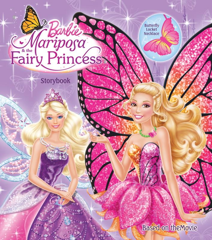 Barbie Mariposa and the Fairy Princess book - Barbie