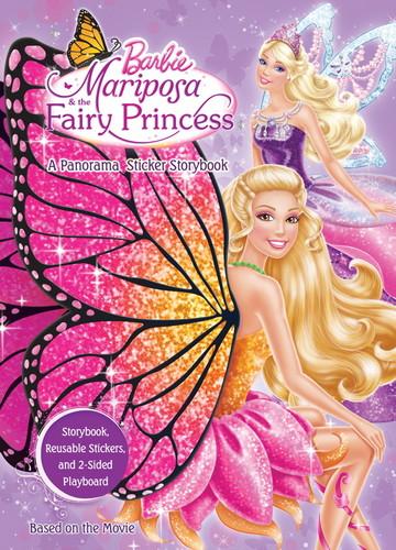 barbie Mariposa and the Fairy Princess book