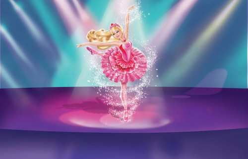barbie in the rosado, rosa Shoes - Stills