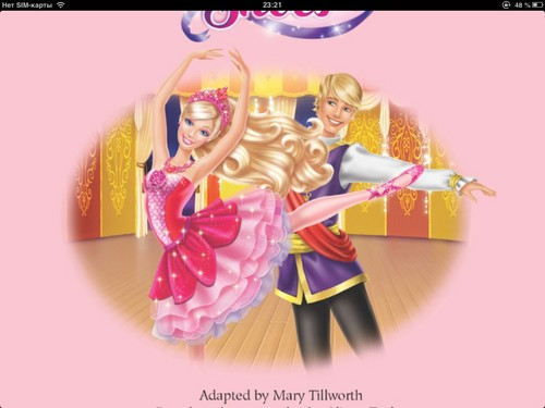 barbie in the rosa, -de-rosa shoes from golden book