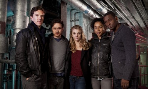 Benedict Cumberbatch and the cast of Neverwhere
