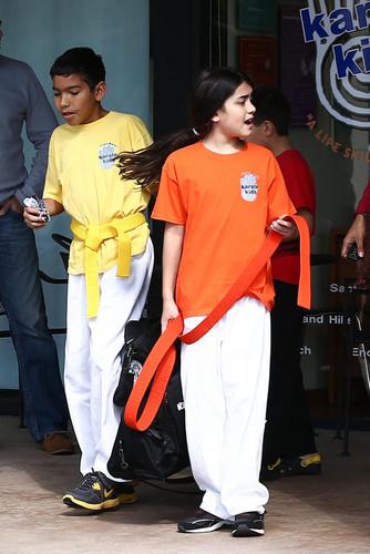 Blanket at karate 10feb2013