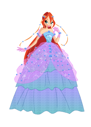 Winx Club Hintergrund entitled Bloom