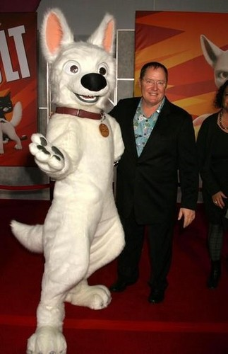 Bolt and John Lasseter