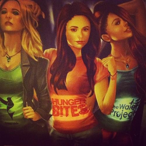 Bonnie, Elena,Caroline