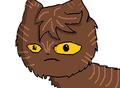 Brambleclaw - make-your-own-warrior-cat fan art