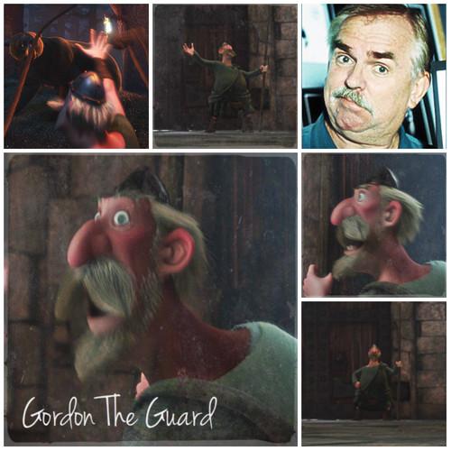 ব্রেভ Alphabet: G from Gordon The Guard