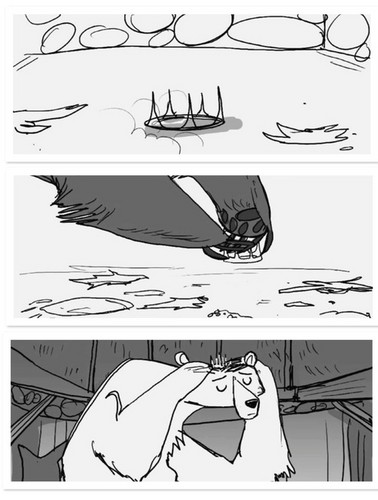 Ribelle - The Brave Storyboards: Mumbear