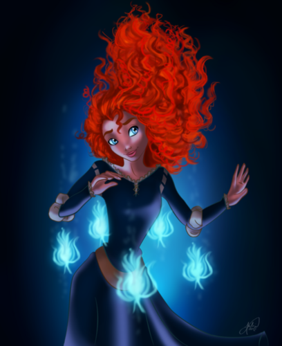 Merida - Legende der Highlands Fan arts