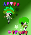 CABOO BEFORE AND AFTER - powerpunk-girls fan art