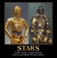 COUNTERPARTS: MJ and C-3PO - michael-jackson fan art