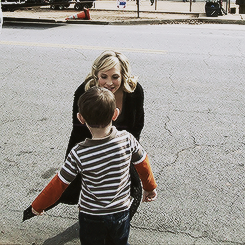Candice with a little boy