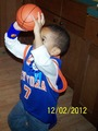 Carmelo Anthony's Biggest 4 year old Fan Cameron