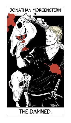 Mortal Instruments wallpaper with anime called Cassandra Jean's Tarot Cards: Jonathan Morgenstern {The Damned}.