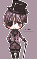 Chibi Ciel♥ - anime fan art