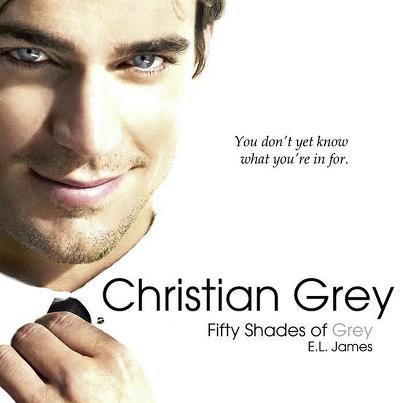 Fifty Shades Trilogy karatasi la kupamba ukuta containing a portrait titled Christian