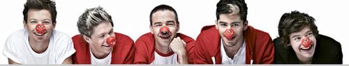 Comic Relief photoshoots 2013