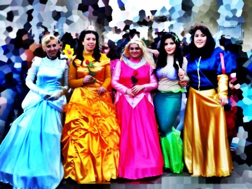 Cosplay Disney Princesses