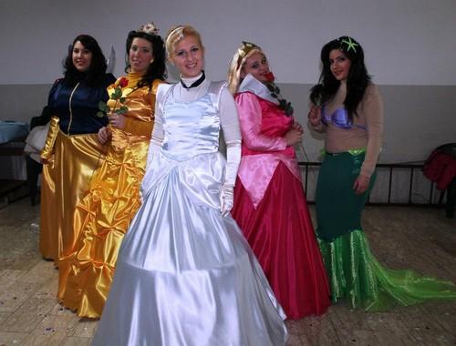 Cosplay Disney Princesses