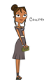 Courtney formal wear - total-drama-island fan art