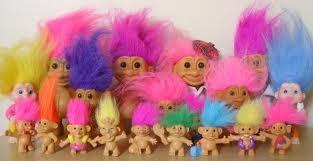 Creepy trolls dolls!