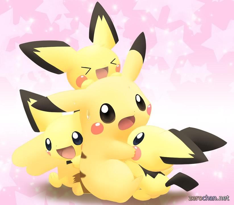 Cute baby pikachu - photo#8