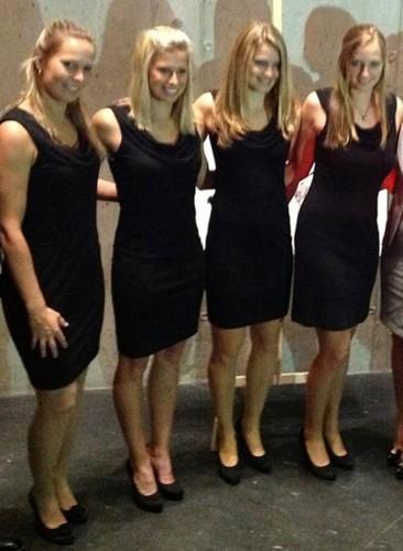 Czech Fed Cup team..
