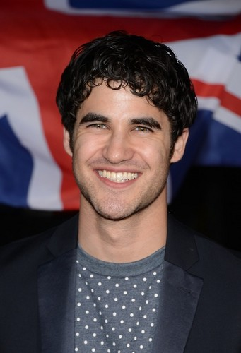 Darren Criss arrives at the Topshop Topman LA Opening Party