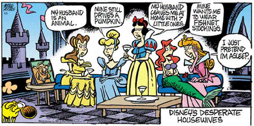 Desprate disney Wives