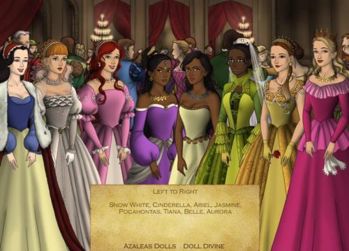 Disney Princess Tudor Style