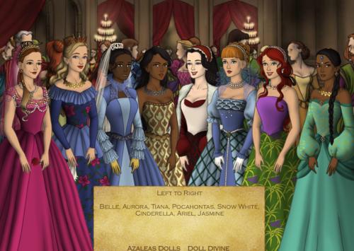 Disney Princess Tudor Swap Around
