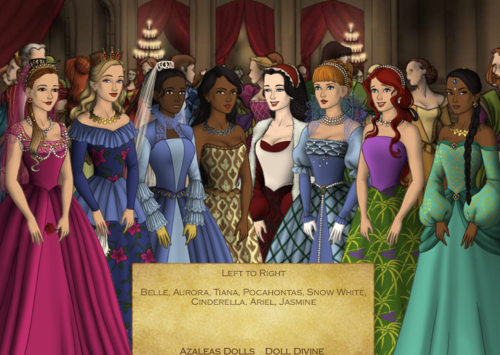 डिज़्नी Princess Tudor Swap Around