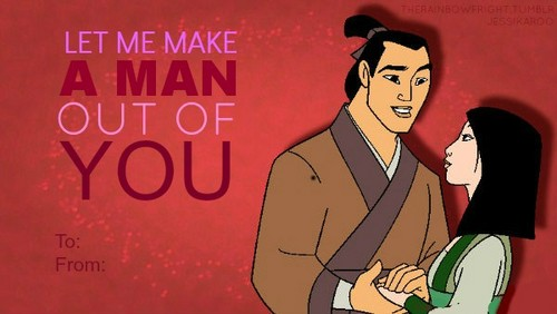 Disney Princess Valentine's dag