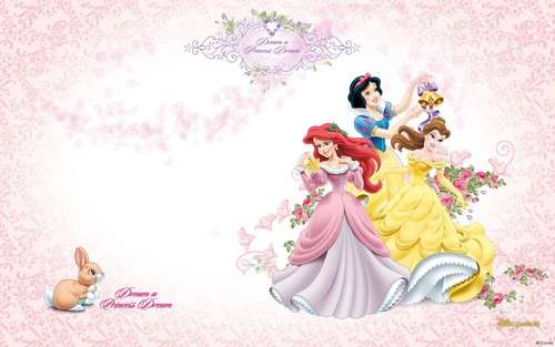 Princesses Disney fond d'écran probably with a bouquet titled Disney Princess