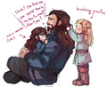 Durin Family - fili-and-kili fan art