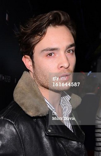 Ed Westwick at the Tommy Hilfiger LA Flagship Opening