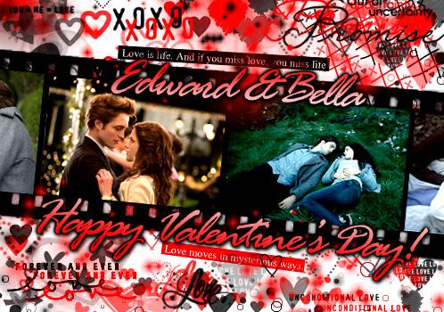 Edward&Bella-Happy Valentine's Day<3