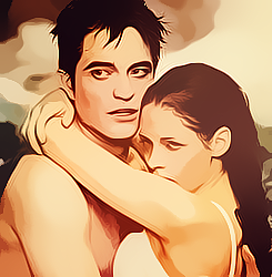 Edward & Bella Water Colours