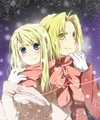 Edward and Winry - edward-elric-and-winry-rockbell fan art