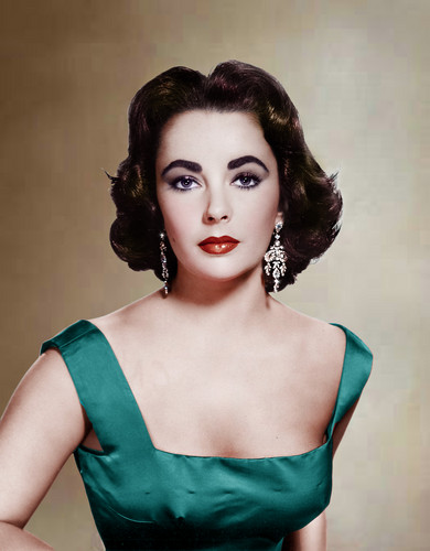 Elizabeth Taylor wallpaper possibly containing a cocktail dress, a dinner dress, and a strapless entitled Elizabeth Taylor