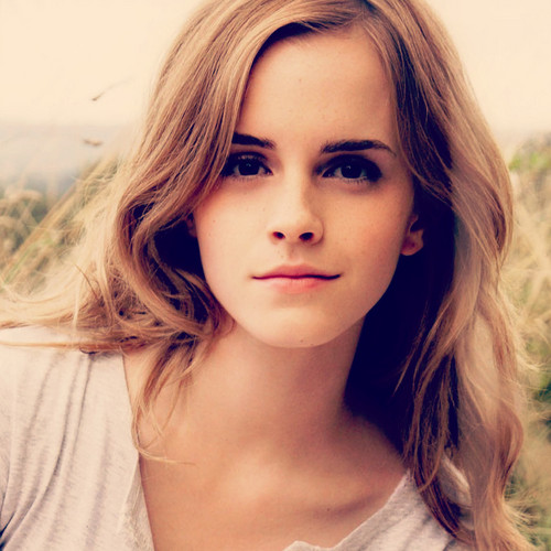 Emma Watson wallpaper with a portrait entitled Emma icone x